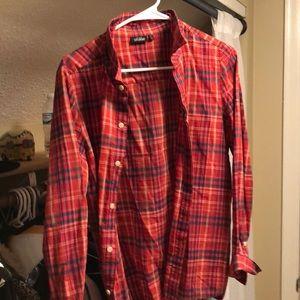 Specialty kate spade plaid shirt